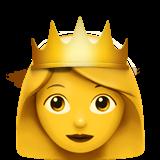 Princess ios emoji