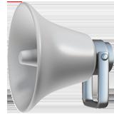 Public Address Loudspeaker ios/apple emoji