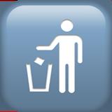 Put Litter In Its Place Symbol ios emoji