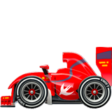 Racing Car ios/apple emoji
