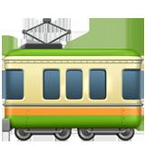 Railway Car ios/apple emoji