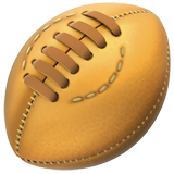 Rugby Football ios/apple emoji