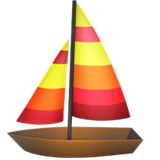 Sailboat ios/apple emoji