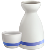 Sake Bottle And Cup ios/apple emoji