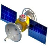 Satellite ios/apple emoji