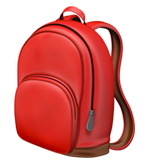 School Satchel ios/apple emoji
