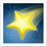 Shooting Star ios emoji