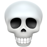 Skull ios/apple emoji