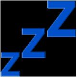 Sleeping Symbol ios/apple emoji