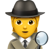 Sleuth Or Spy ios emoji