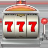 Slot Machine ios emoji