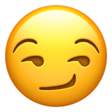 Smirking Face ios/apple emoji