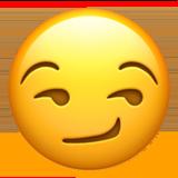 Smirking Face ios emoji