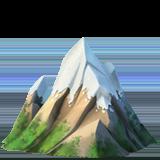 Snow Capped Mountain ios emoji