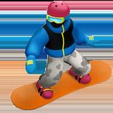 Snowboarder ios/apple emoji