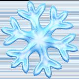 Snowflake ios emoji