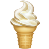 Soft Ice Cream ios emoji