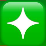 Sparkle ios/apple emoji