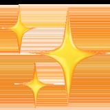 Sparkles ios emoji