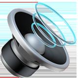 Speaker With Three Sound Waves ios emoji