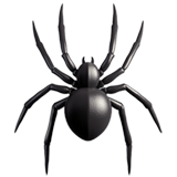 Spider ios emoji