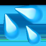 Splashing Sweat Symbol ios emoji