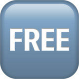 Squared Free ios emoji