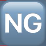 Squared Ng ios/apple emoji