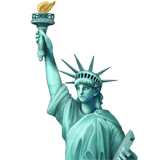 Statue Of Liberty ios emoji