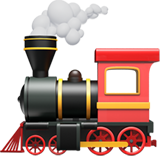 Steam Locomotive ios/apple emoji