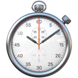 Stopwatch ios/apple emoji