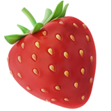 Strawberry ios emoji
