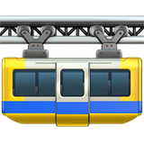 Suspension Railway ios/apple emoji