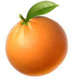 Tangerine ios/apple emoji