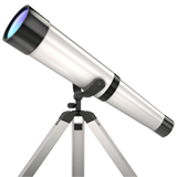 Telescope ios/apple emoji
