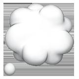 Thought Balloon ios/apple emoji