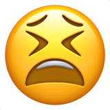 Tired Face ios/apple emoji
