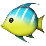 Tropical Fish ios emoji