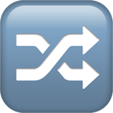 Twisted Rightwards Arrows ios/apple emoji