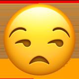 Unamused Face ios emoji