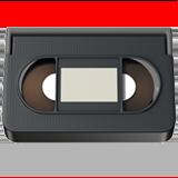 Videocassette ios emoji
