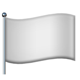 Waving White Flag ios emoji