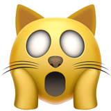 Weary Cat Face ios emoji