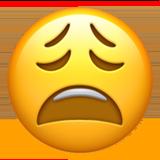 Weary Face ios/apple emoji