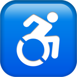 Wheelchair Symbol ios/apple emoji