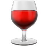 Wine Glass ios emoji