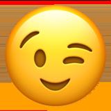 Winking Face ios/apple emoji