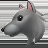 Wolf Face ios emoji