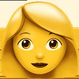 Woman ios emoji