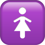 Womens Symbol ios/apple emoji